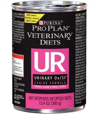 Purina Pro Plan Veterinary Diets UR Urinary Ox/St Dog Food – 13.3oz / Can – Case of 12 Cans