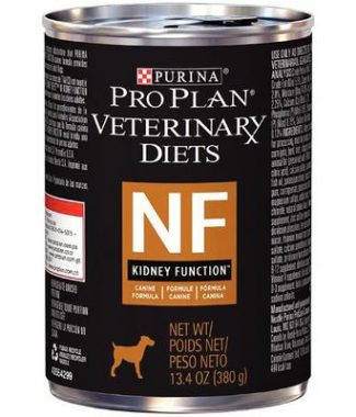 Purina Pro Plan Veterinary Diets NF Kidney Function Dog Food – 13.3oz / Can – Case of 12 Cans