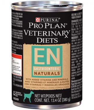 Purina Pro Plan Veterinary Diets EN Gastroenteric Naturals Dog Food – 13.4oz / Can – Case of 12 Cans