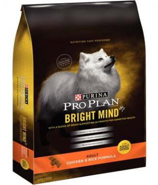 Purina Pro Plan Bright Mind Chicken and Rice Adult Dog Food – 16 lb