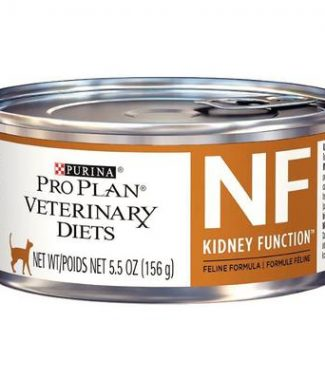 Purina Pro Plan Veterinary Diets NF Kidney Function Cat Food – 5.5oz / Can – Case of 24 Cans